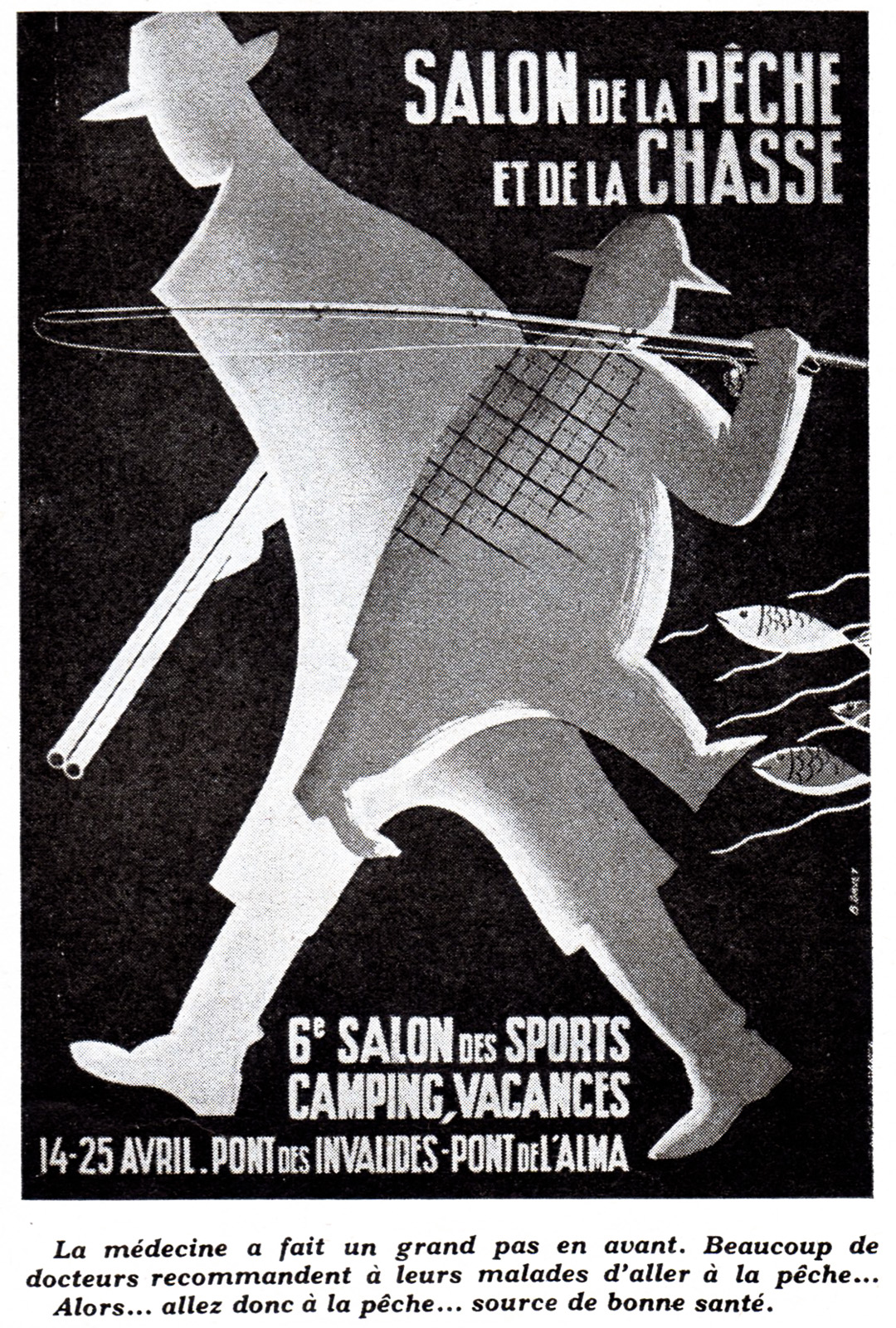 Salon de la Pêche et de la Chasse - Paris - France - 1960