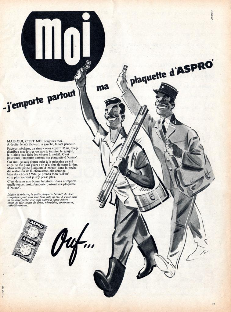 Aspro – France -1960 | Pub de Pêche