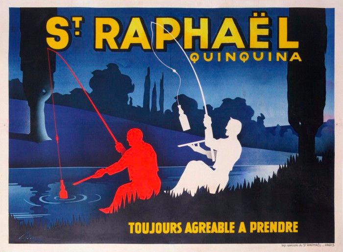 ST RAPHAEL QUINQUINA TOUJOURS AGREABLE A PRENDRE - Albert SOLON - France - 1936